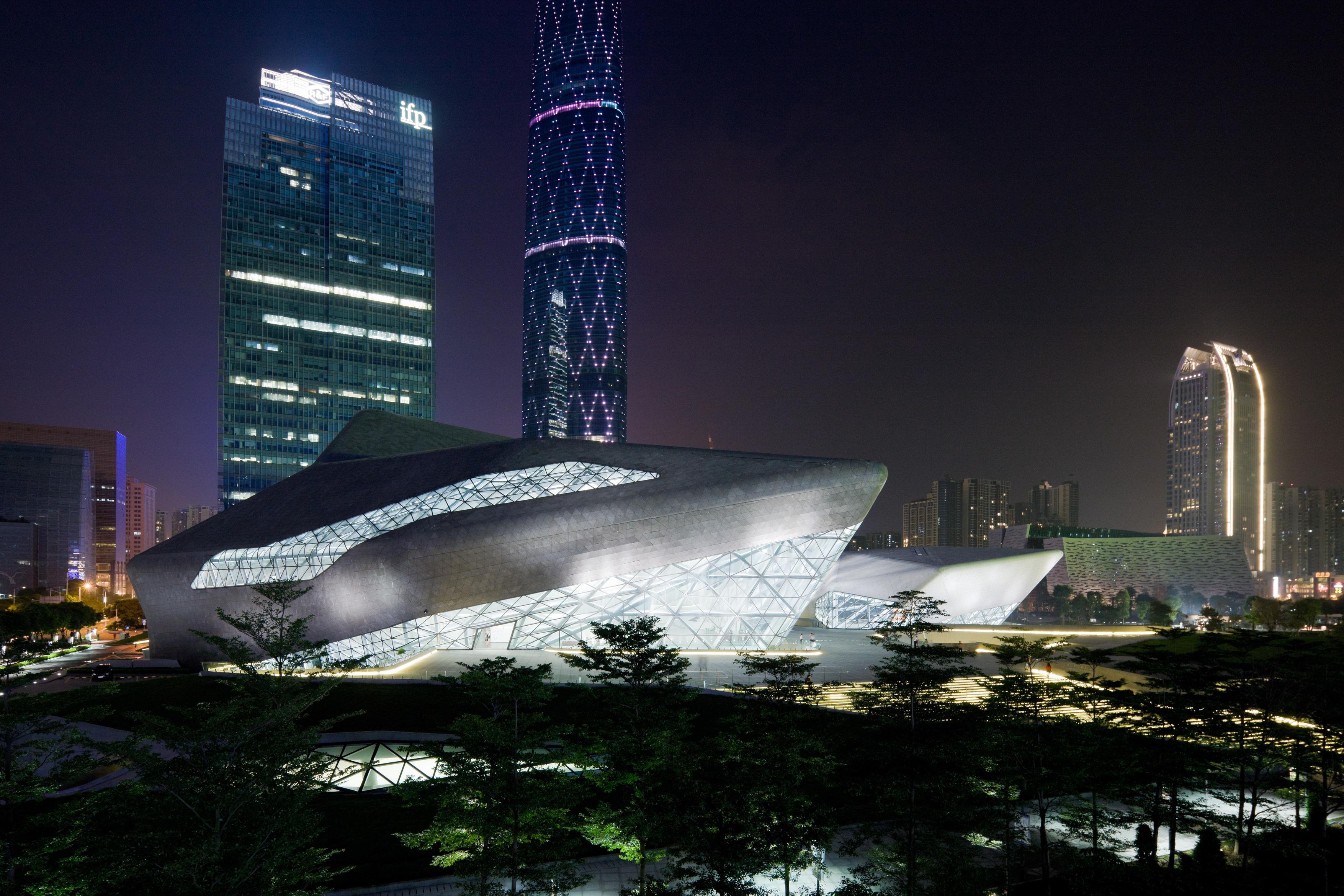 zaha hadid Guangzhou opera 1